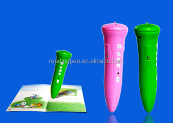 Dry Battery Sonix OID Text Reading Pen For Children , Educational Talking Pen