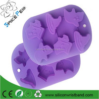 Pumpkin Silicone cake mold baking Halloween shaped FDA standard silicone cake baking molds support retail and wholesale
