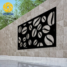 2017 Beautiful Design Perforated Laser Cut Outdoor Metal Garden Screens For Decoration Divider Laser