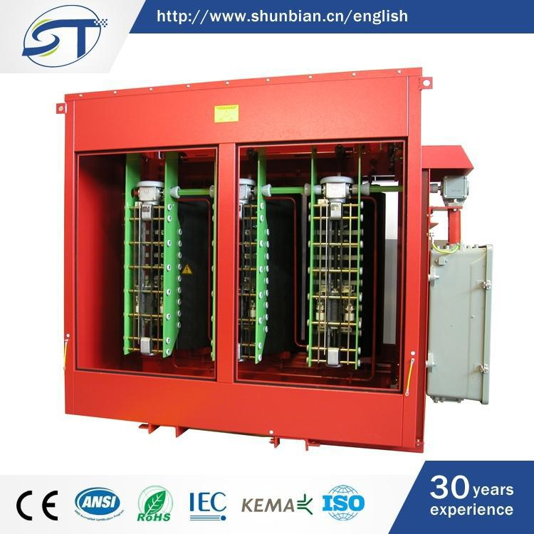 3-Phase Electrical Equipment Classical Type Dry Type R Core Transformer
