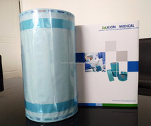 2017 New medical autoclave gusseted sterilization pouch roll