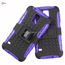 Fashionable design 2 in 1 hybrid cases TPU PC cover for samsung s5 i9600