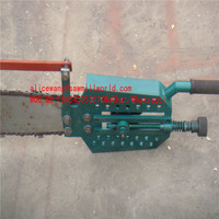 top quality CNC Portable Sawmill With Chain Saw wood Slasher for best price