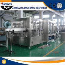 2017 Newest hot sale automatic small carbonated beverage canning machine/can filling machine