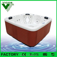 Best Selling 2 lounger bath tub specially designed for Europe and Africa people