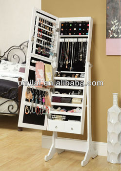 hot sales dressing mirror cabinet, jewelry armoire
