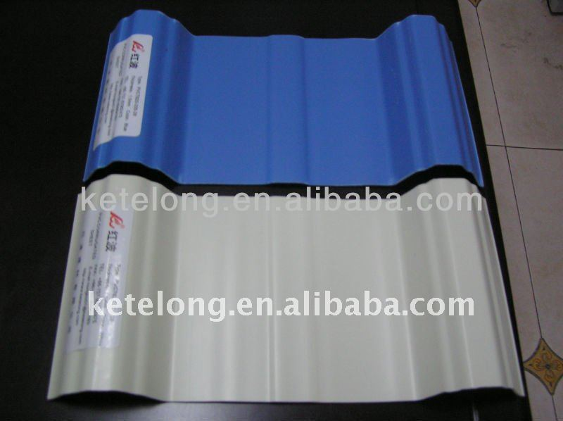 carbon fiber upvc roofing sheet 3 layer
