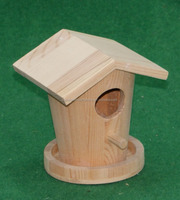 New design custom wood cage small wood bird house