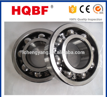 HQBF Brand China Bearing,Deep Groove Ball Bearing 6200 Series chrome Steel ZZ 2RS RS Open
