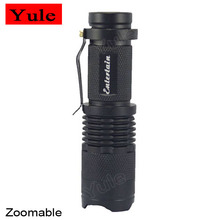 1*AA/1*14500 Zoomable Light Entertain SK68 XRE Q5 1 Mode LED Flashlight LED Torch,Led Lamp Zoom Torch Flashlight