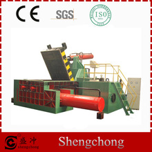 Shengchong Brand Y81-400A Series straw bale press machine automatic horizontal baling press machine