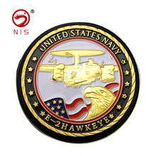 Plating color custom souvenir metal challenge embossed army coin