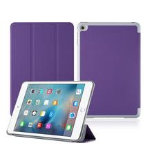 Ultra Slim Classical Folio Flip Smart Standing Case Cover For iPad Mini 3 4 With Auto Sleep and Wake