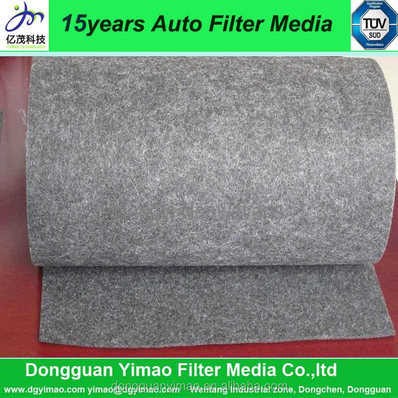 hepa carbon material air filter, activated carbon filter raw material