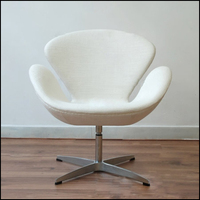 Classic style Living room or waiting room furniture Arne jacobsen comfortable swan chair