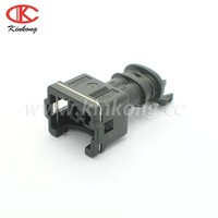 injector female connector 282189-1- with secondary lock auto housing