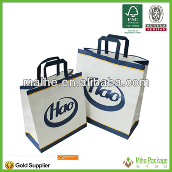 adult paper crafts paper bag/handle craft paper bag
