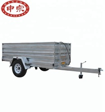 1.5 ton romork electric motor control hydraulic tipping galvanized trailer