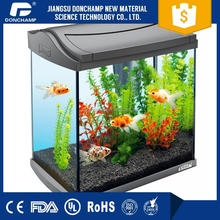Made in china transparent clear mini organic glass acrylic toy fish tank /aquarium wholesale