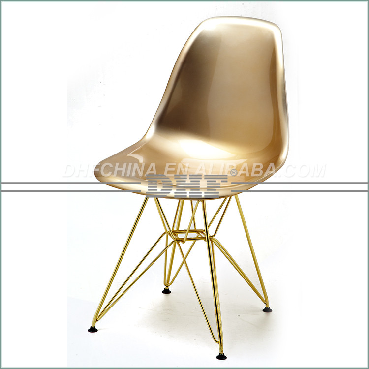2016 New Chrome Legs Dining Chair