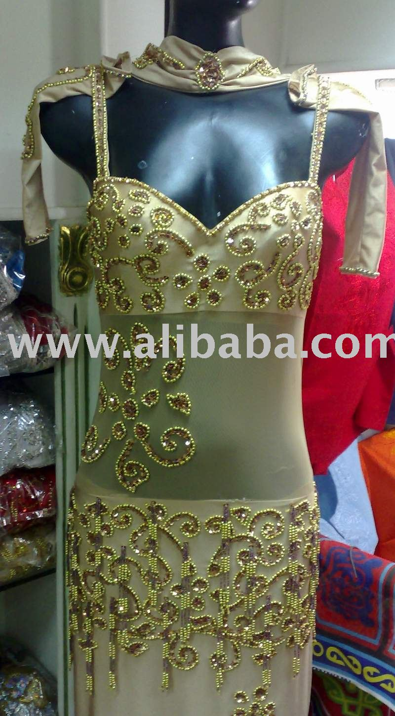 Sexy Professional Belly Dance Costume from Egypt