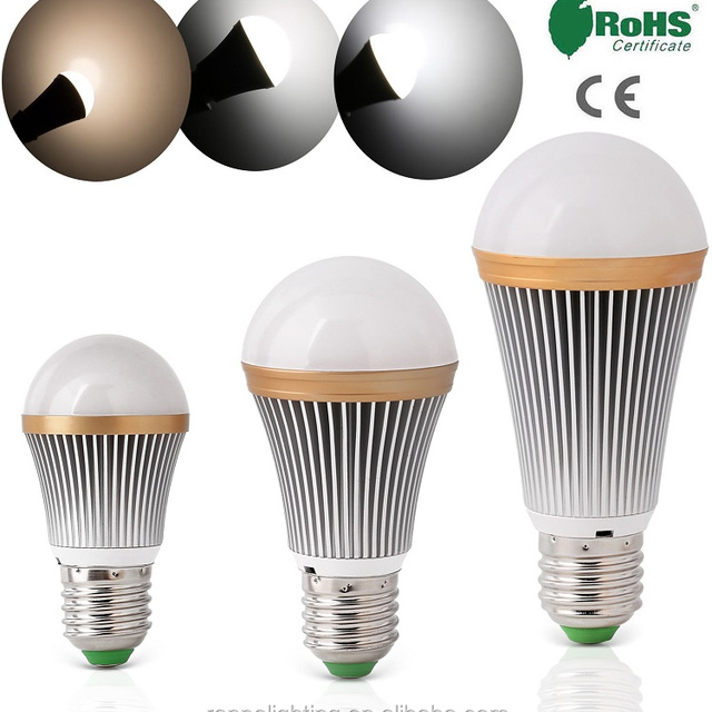 Energy Saving LED Globe Bulb Spot Light Lamp E26 E27 A50 A60 3W 5W 7W Cool Neutral Warm White SMD LED Bulb Manufacturing