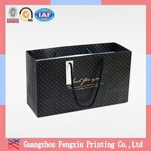 Large Discount China Square Bottom Printed Wheeled Shopping Bag