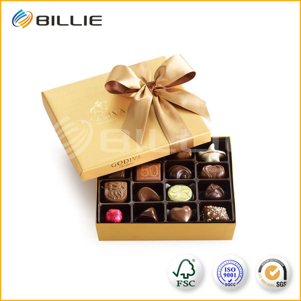 Fascinating Beautify Packaging Box Sliding Trays Chocolate