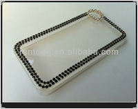 New items 2014 wholesale fashion mobile rhinestone phone Case for iphone 5 case