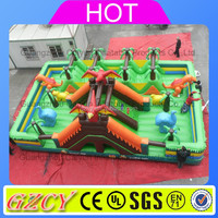 Wholesale price large Inflatable fun city/inflatable playground