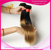 Top Quality Two Tone Human Hair, Hot Sale Brazilian Human Hair, Human Hair Extension For Black Women