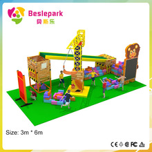 China Popular new indoor playground/ educational and intelligent amusement park/ cheap used indoor playground equipment for sale