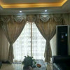 Polyester Curtains with Jacquard pattern for Home Banquet room