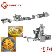 continuous frying corn tortilla snacks making machine