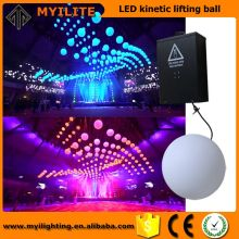 Hot Selling lowest price led Winches DMX 512 Kinetic Light led sphere ball lighting
