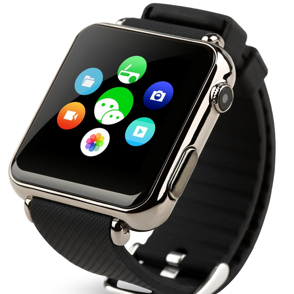 2016 CPU MTK6260A Y6 Smart Watch 1.54 Inch LCD Bluetooth3.0 Support Sim TF Card MP3/4