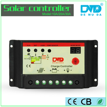 Intelligent PWM 12V 24V 48V Solar Charge Controller 10A 20A 30A For Solar System