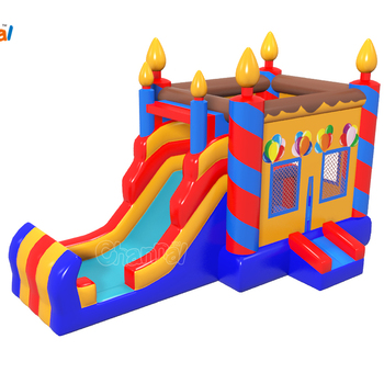 2018 popular inflatable combo inflatable Bounce House with slide for Party