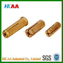 Custom high strength brass anchors, brass anchor fasteners