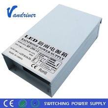 12V 200W Electronic LED Driver IP67 LED Outdoor Switching Power Supply Transformer LED Supply Power Waterproof Switch Mode dc