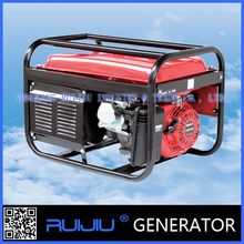 Top grade cheapest Single cylinder, air cooled, 4 stroke, OHV 230v/380v gasoline generator 3.5 kva