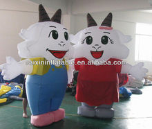 customized inflatable sheep/ inflatable advertising sheep model/ inflatable sheep mascot for event/ advertising