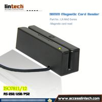 Factory direct selling 3 Tracks magnetic card|USB ios chip/emv/smart card reader card reader