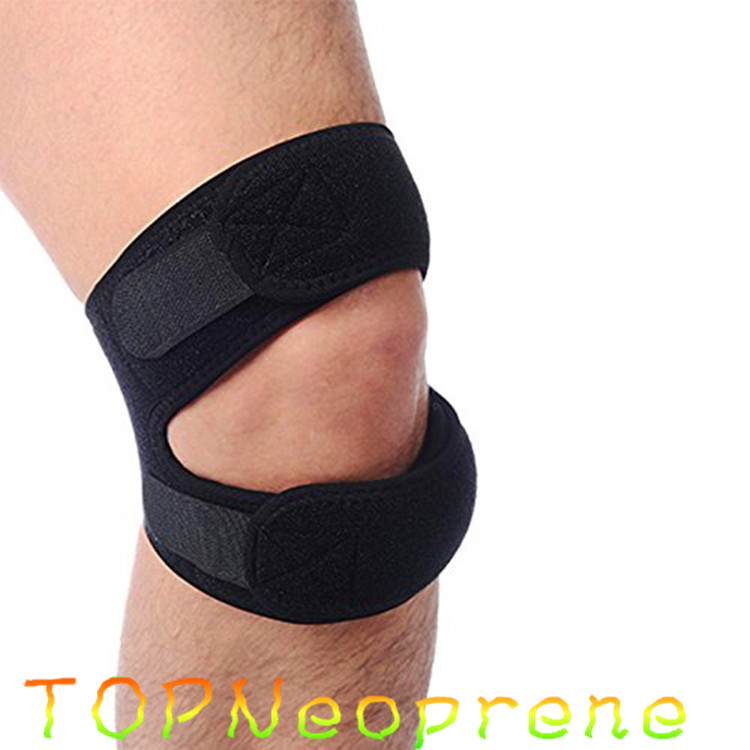Neoprene Dual Strap Patella Tendon Knee Support Brace