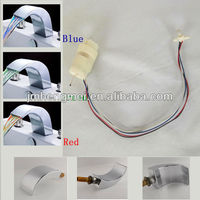Factory supply low price Water-Powered LED faucet parts
