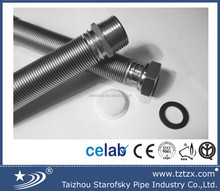 DN15 stainless steel corrugated extensible flexible hose for water and gas