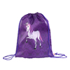 210D Sublimation Printing Unicorn Polyester Drawstring Bags