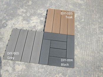 Waterproof Easy Install and Low Maintenance Outdoor/ Indoor WPC DIY tiles001