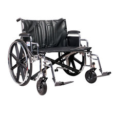 Luxury mag wheels functional of wide wheelchair with detachable arm