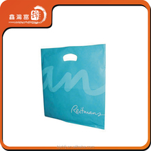 custom made designer shopping plastic bags printing logo